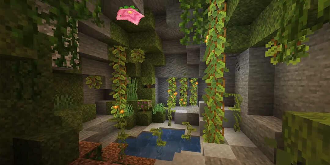 Minecraft 1.17 új barlang kinézete