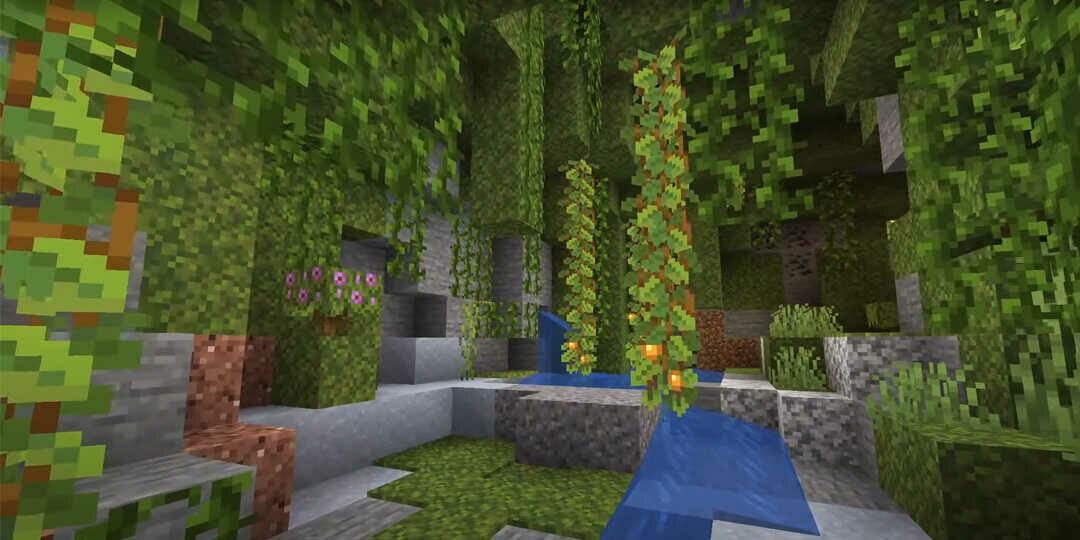 Minecraft 1.17 buja barlang