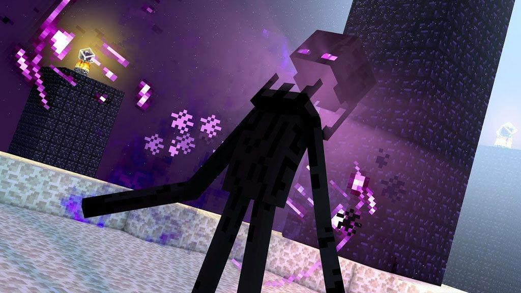 Minecraft Bevégző az End-ben